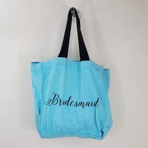 Handbags - Bridesmaid Tote Bag Aquamarine Sz 22″ x 14″